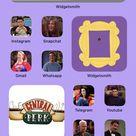 iOS 14 Movie/TV Themed Home Screens Ideas
