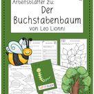 Arbeitsblätter zum Buchstabenbaum (Klasse 1 und 2)