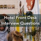 Hotel Front Desk Interview Questions