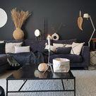 De perfecte grijze muur in de woonkamer   Huizedop
