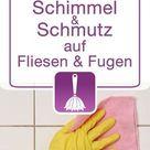 Hausmittel zur Reinigung von Fliesen und Fugen   Schimmel und Schmutz entfernen