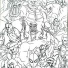 [UPDATED] 101 Avengers Coloring Pages (September 2020)