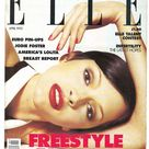 Elle UK April 1993  British Original Vintage Fashion Magazine Gift Birthday Present Patricia Hartman cover