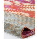 benuta In  & Outdoor Teppich Artis Orange 200x285 cm   für Balkon, Terrasse & Garten benuta