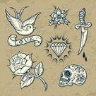 Old School Tattoo Designs