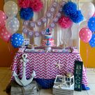 Nautical Birthday Party Ideas | Photo 1 of 20