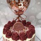 Geburtstagskuchen; Kuchen für Mädchen; Geburtstagstorte dekorieren; hausgemachter klassiker … - Hi
