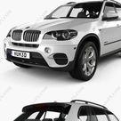 Download BMW X5 2011 3D Model   DesireFX.COM