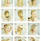 Easy DIY prom hairstyle for girls with short to medium hair with layers   Cute Girls Hairstyles