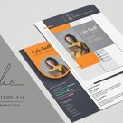 Resume Template - Digital Marketer (731027) | Resume Templates | Design Bundles