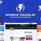 Olympus — Responsive Community & Social Network WordPress Theme   Stylelib