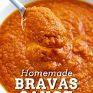 Homemade Bravas Sauce