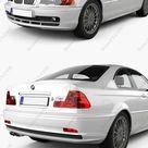 Download BMW 3 Series coupe E46 2004 3D Model   DesireFX.COM