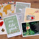 Dem Brautpaar das erste Ehejahr versüßen? Mit diesen 52 Postkarten schafft ihr das mit Sicherheit!