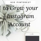A Surprising Way to Use Pinterest to grow your Instagram Account - Vanessa Kynes