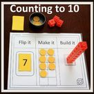 Kindergarten MATH Games Counting to 10