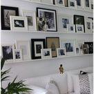 55 ausgefallene Bilderwand und Fotowand Ideen - ArchZine