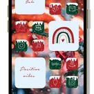 Christmas app icons