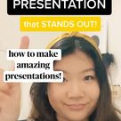 how to make amazing presentations!