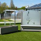 Mobiler Windschutz aus Glas: Windschutzelemente bequem online kaufen
