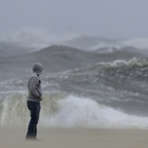 BREAKING NEWS: Superstorm Sandy finally makes landfall as deadly front slams into East Coast with millions fearing the worst