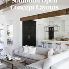Awkward Space Solutions: Open Concept Layouts