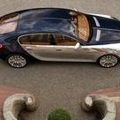 Black and Gold Bugatti Galibier