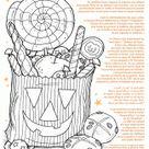 Coloriage Halloween sur Hugolescargot.com