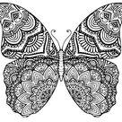 Butterfly Mandala  Cutting File  SVG Eps Dxf | Etsy