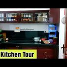 My Kitchen Tour in tamil   Small Kitchen Tour in tamil   Kitchen Organisation   Gowri's Adupangarai