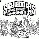 Skylanders coloring pages printable games