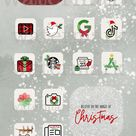 Christmas Iphone App Icons  Ios 14 Aesthetic App Covers | Etsy