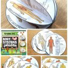 Human Body Systems foldables Interactive Science Notebook