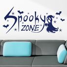 Wandtattoo Spooky Zone, Gespenst