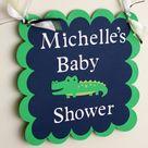 Alligator Baby Showers