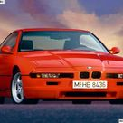 BMW 8 SERIES E31 KUPE GERMANY 1989 YEAR.