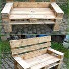 Ideen, um Holzpaletten ein zweites Leben zu geben - Pallet Ideas