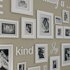 Quotes gallery wall, quotes gallery wall ideas, gallery wall with quotes