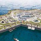 Conheça a ilha artificial de luxo onde as casas custarão até R$ 5 bilhões
