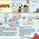 Final Sunday strip, which came out February 13, 2000: one day after the death of Charles M. Schulz