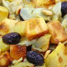 Ensalada de patatas y alcachofas con aceitunas   Tasty details