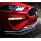 Front Bumper Lip GT Style for 2018 - 2019 Ford Mustang