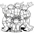 106 dessins de coloriage tortue ninja à imprimer sur LaGuerche.com - Page 10