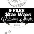 FREE Star Wars Printables: 20+ Star Wars Activity Sheets