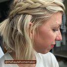Half Up Halo Dutch Braid   The Haute Homemaker