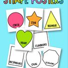 Shape Posters by Miss M's Reading Resources | Teachers Pay Teachers