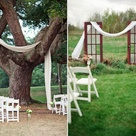 Outdoor Wedding Altars