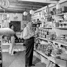 Interior of the village store Brevard County, Florida