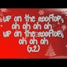 Glee Cast   Deck the Rooftop Lyrics