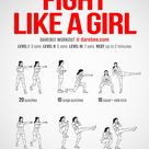Fight Like A Girl Workout!
